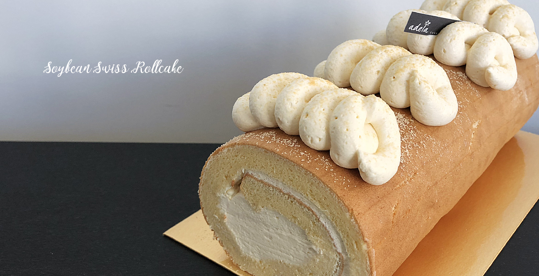 Soybean roll cake
